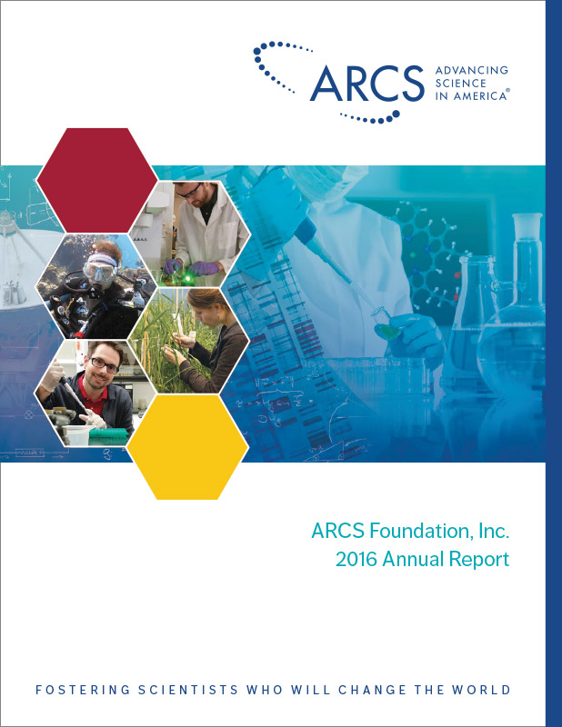 ARCS 2016 Annual Report design