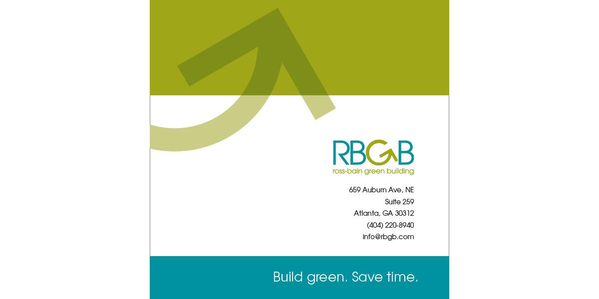 RBGB Promo Brochure design