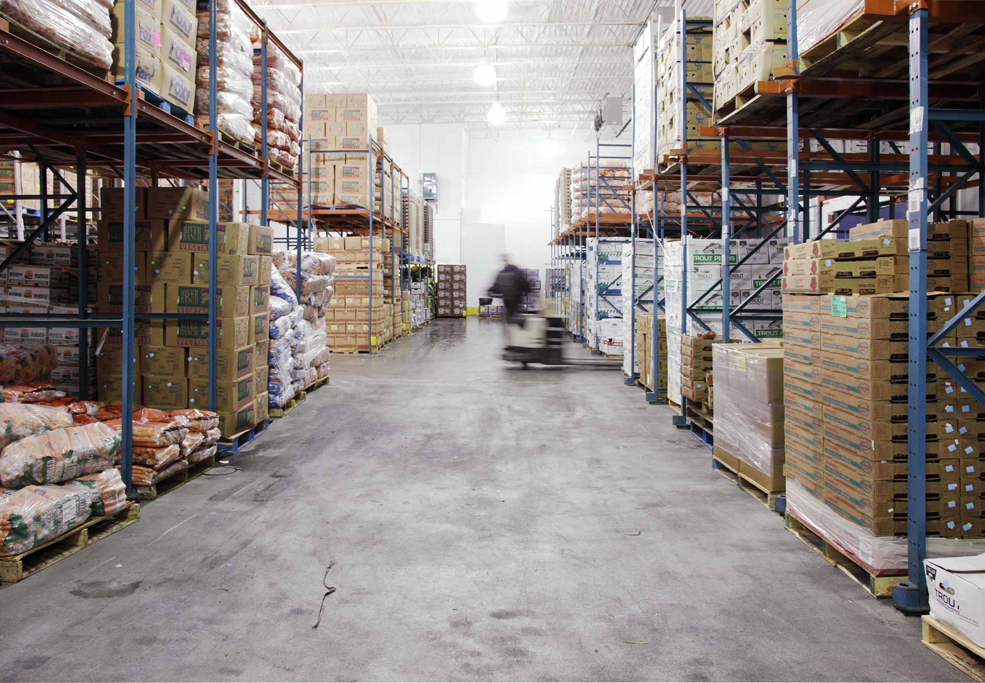 produce warehouse photography